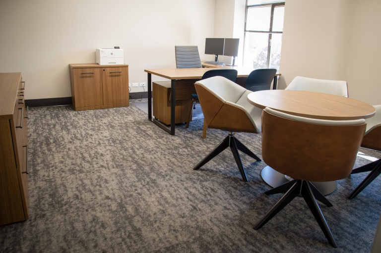 Private Office Furniture for Local Bank in Idaho