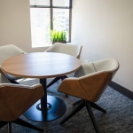 Table and Chairs for Team Room in Local Bank in Boise