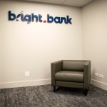 Reception Area Furniture for Local Bank in Idaho