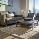 Lobby Furniture Setup for Tresidio Homes in Meridian, Idaho