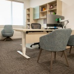 Private Office Furniture Setup for Tresidio Homes in Meridian, Idaho
