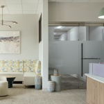 Healthcare Lobby Area Furniture for Dental Office in Idaho