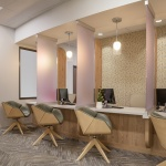 Commercial Reception Area Furniture for Dental Office in Idaho