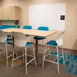 Table and Chairs for Break Room in Finance Company in Boise