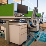 Storage for Workstations in Finance Company in Boise