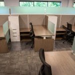 Desks and Chairs for Workstations in Industrial Office in Boise