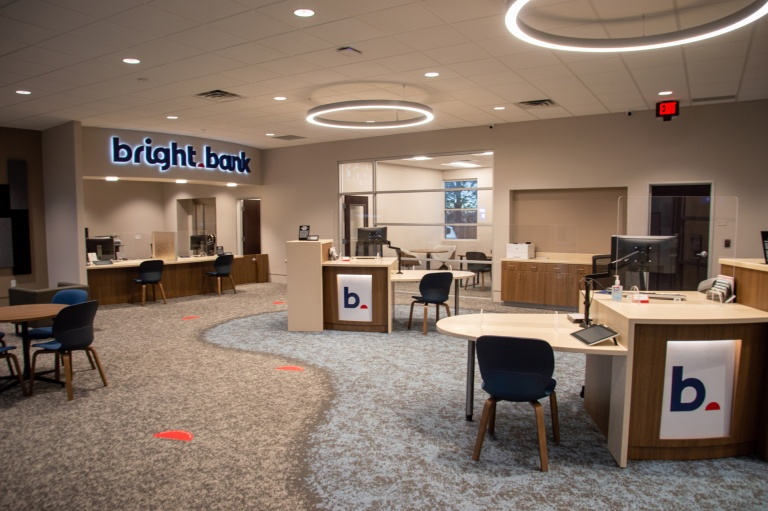 Office Furniture for Bright Bank in Boise, Idaho
