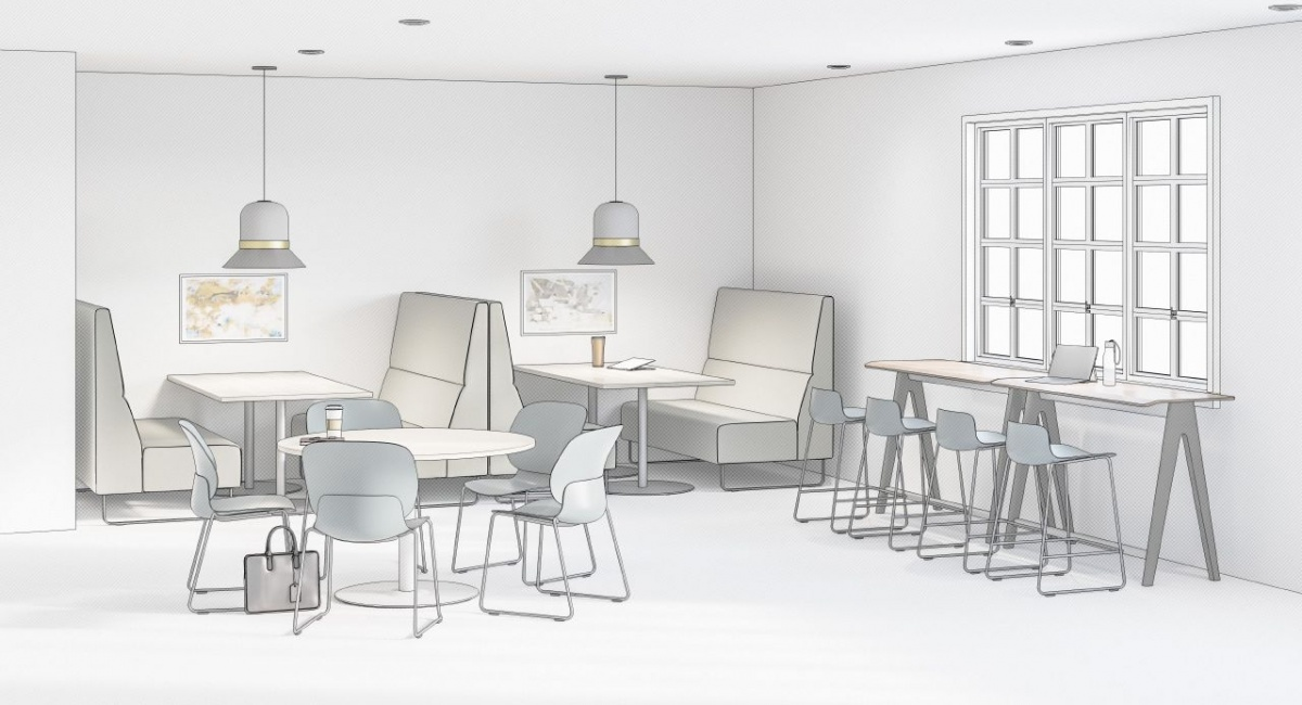 Ancillary Commercial Furniture for Cafe Area